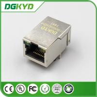 Wholesale 25.4Mm 100M 1x1 Tap Up RJ45 Ethernet connector with POE for network cable plug from china suppliers