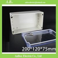 Wholesale 200*120*75mm IP65 Waterproof Housing Outdoor plastic box for electronic project wholesale from china suppliers