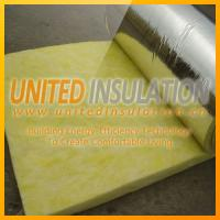 Quality Glass wool blanket with foil for sale