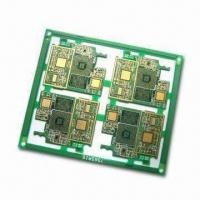 Buy cheap 6-layered PCB with Immersion Gold Surface Finish and 1.2 mm Board Thickness from wholesalers