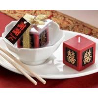 Wholesale Double Happiness Keepsake Candle from china suppliers