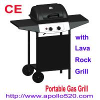 how to use lava rocks in a gas grill