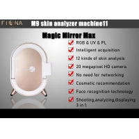 Buy cheap Hd Intelligent Ai Rgb Facial Skin Analyzer With Clinic Magic Mirror Face Scanner from wholesalers