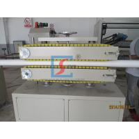 Buy cheap Conical Twin-Screw Extruder Plastic Extrusion Equipment For Producing PVC Pipe from wholesalers