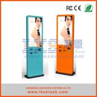 Quality 46 Inch Advertising outdoor touch screen kiosk / self service interactive information kiosk for sale