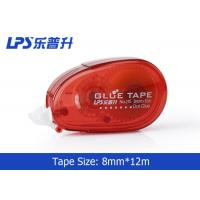 Wholesale Red Double Side Adhesive Roller / Glue Tape Runner For DIY Craft from china suppliers