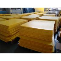 China 3mm 4mm thick high density PP plastic layer pads Slip sheet  tier bottle separator for sale
