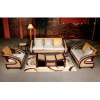 Wholesale bamboo rattan sofa set, living room sofa set, classic sofa set, #1143 from china suppliers