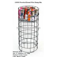Wholesale Practical Round Wire Dump Bin from china suppliers