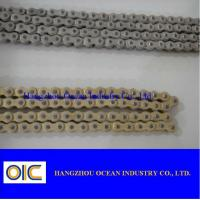Wholesale 40MN/A3 Copper Coating Motorcycle Chains With Extremely Durable Performance from china suppliers