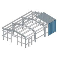 Wholesale Safety Multi Layer Workshop Steel Building Frame ISO9001 SGS Certification from china suppliers