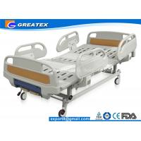 Wholesale GT-BM5207 Two Crank Medical Manual Hospital Bed Foldable ABS Handrails 2 Functions from china suppliers