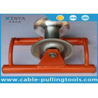 Wholesale Straight Line Cable Tray Roller , Trench Roller With Aluminum Wheel from china suppliers