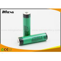 Wholesale 3100mAh Cylindrical panasonic 18650 battery NCR 18650A with Flat Top from china suppliers