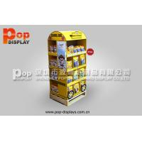 Wholesale Portable Shelf Cardboard Pallet Shipper Display For Dog / Cat Food Market Promotion from china suppliers