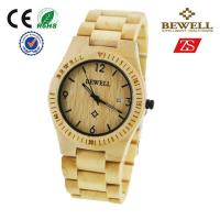Wholesale Waterproof Wooden Wrist Watch from china suppliers