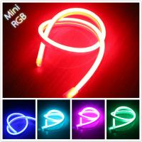 Wholesale DC24V RGB led neon flex 5050 SMD 9w/m 10*18MM ultra thin neon rope light from china suppliers