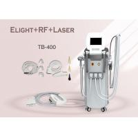 Wholesale Multifunction E-light IPL RF ND Yag Laser For Hair / Tattoo / Wrinkle Removal  Machine from china suppliers