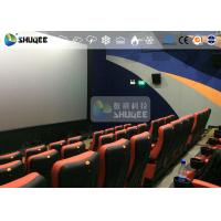 Wholesale CE Approval 4D Digital Cinema Equipment With Curved Screen / HD Projectors from china suppliers