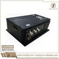 Quality COFDM Wireless Video transmission System for EOD Robot Application for sale