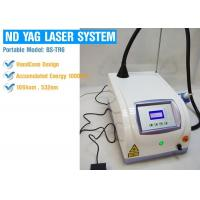 Wholesale Professional 1064nm / 532nm Laser Tattoo Removal Equipment , ND Yag Q Switched Laser Machine from china suppliers