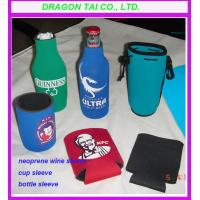 Wholesale Neoprene bottle suit,  zippered bottle sleeve, can sleeve, wine sleeve from china suppliers
