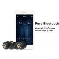 Wholesale IOS Android Bluetooth Tire Pressure Monitoring System Car TPMS External Sensor from china suppliers