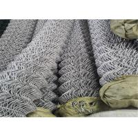 Wholesale Galvanized PVC Coated Security Chain Link Mesh Fence from china suppliers