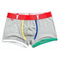 China Fashion High Rise Boxer Briefs , High Stretch Mens Cotton Boxer Shorts for sale