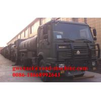 Wholesale 15000L EURO II Oil Tanker Truck / 4*2 Sinotruk Howo Tanker Truck from china suppliers