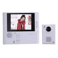 Wholesale 2.8-inch Digital Peephole Viewer with Two-way Intercom Function and 3x Digital Zoom HQS-1001 from china suppliers