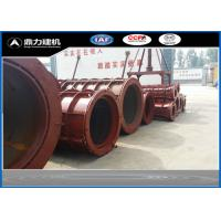Wholesale 380V / 50HZ Concrete Tube Mold , Cement Pipe Mould Steel Material from china suppliers