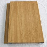Buy cheap Wood grain aluminum veneer decorative interior wall paneling from wholesalers