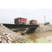 Wholesale Prefabricated Compact HD 200 Portable Steel Bailey Bridge Design from china suppliers