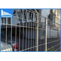 Wholesale Powder Painted Roll Top Mesh Fencing , Durable Security Fencing Panels from china suppliers