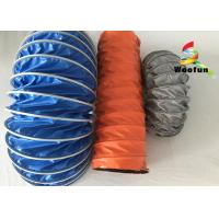 Wholesale Waterproof Compressing High Temperature Flexible Duct PVC Small Bending Radius from china suppliers