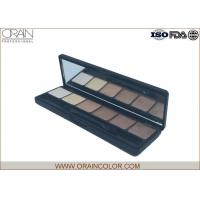 Wholesale Professional Six Color Shimmer Makeup Eyeshadow Palette With Brush from china suppliers