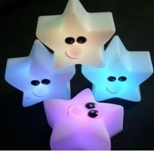 Wholesale Glaring LED starts light ,night light from china suppliers