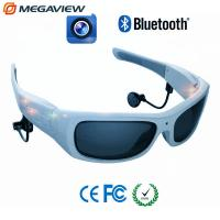 Wholesale Blue Frame Outdoor Sport Mini Hidden Camera Glasses High Definition from china suppliers