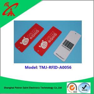 Quality UHF RFID 860-960MHZ plastic tag Custom Mini rfid pvc plastic luggage tag for sale