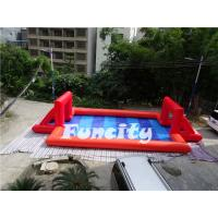 Wholesale Air Sealed Magic Inflatable Soap Football Court , Football Inflatables Game from china suppliers