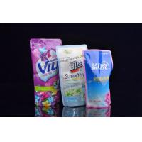 Wholesale Customized Printing Washing Liquid  Stand Up Soft Plastic Packaging Bags from china suppliers