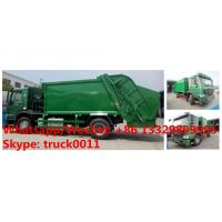 Wholesale Factory customized HOWO 4*2 LHD/RHD 8m3/10m3/12m3/14m3 compression garbage truck for sale, garbage compactor truck from china suppliers
