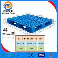 Wholesale Black Color High Quality Nestable Plastic Pallet for Sale from china suppliers