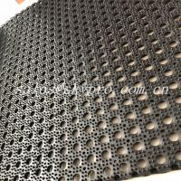 China Oil Proof Kitchen Holes Nitrile Rubber Mats Heavy Duty With Hollow on sale