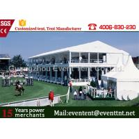 Wholesale Easy Installation pvc  Two Floor Tent White , A Frame Marquee Party Tent With Flooring from china suppliers