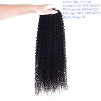 Wholesale factory price Hair Weaves For Black Women, Brazilian 6a kinky curly hair weave from china suppliers