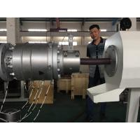 Quality Waste Water PVC Pipe Extrusion Line With ABB Inverter 110 - 200mm Pipe Range for sale