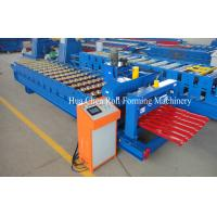 Wholesale 380V 50Hz 3 Phases Glazed Tile Roll Forming Machine from china suppliers