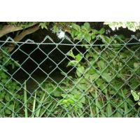 Quality Industrial PVC Coated Wire Mesh , high chain link black fence for sale